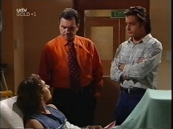 Joel Samuels, Karl Kennedy, Drew Kirk in Neighbours Episode 3226
