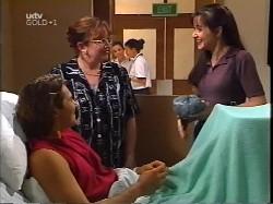 Joel Samuels, Brenda Samuels, Susan Kennedy in Neighbours Episode 3227