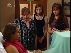 Joel Samuels, Brenda Samuels, Anne Wilkinson, Susan Kennedy in Neighbours Episode 3227