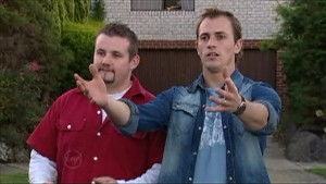 Toadie Rebecchi, Stuart Parker in Neighbours Episode 4833
