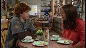 Jake Rinter, Rachel Kinski in Neighbours Episode 4850