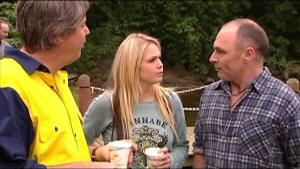 Joe Mangel, Sky Mangel, Kim Timmins in Neighbours Episode 4853
