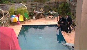 Kim Timmins, Stingray Timmins, Dylan Timmins, Toadie Rebecchi in Neighbours Episode 4979