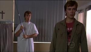 Cameron Robinson, Robert Robinson in Neighbours Episode 4982