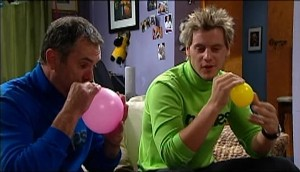 Karl Kennedy, Ned Parker in Neighbours Episode 4983