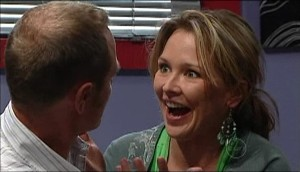 Max Hoyland, Steph Scully in Neighbours Episode 4984
