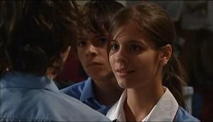 Garrett Burns, Zeke Kinski, Rachel Kinski in Neighbours Episode 4985