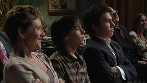 Susan Kennedy, Zeke Kinski, Stingray Timmins in Neighbours Episode 4996