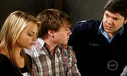 Donna Freedman, Ringo Brown, Matt Freedman in Neighbours Episode 5545