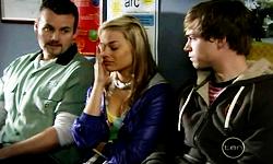 Toadie Rebecchi, Donna Freedman, Ringo Brown in Neighbours Episode 5545