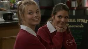 Donna Freedman, Rachel Kinski in Neighbours Episode 5574