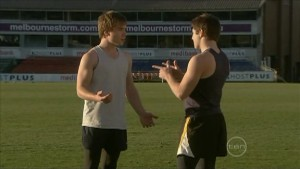 Ringo Brown, Declan Napier in Neighbours Episode 5575