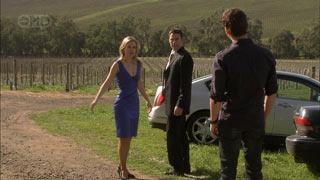 Elle Robinson, Andrew Simpson, Lucas Fitzgerald in Neighbours Episode 5578