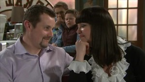 Toadie Rebecchi, Dan Fitzgerald, Callum Jones, Kelly Katsis in Neighbours Episode 5579