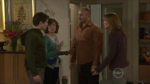 Declan Napier, Bridget Parker, Steve Parker, Miranda Parker in Neighbours Episode 5579
