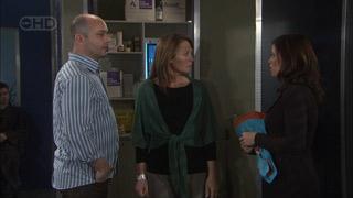 Steve Parker, Miranda Parker, Rebecca Napier in Neighbours Episode 5580