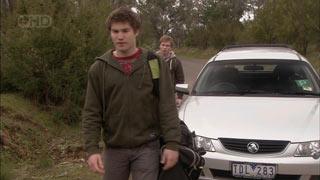 Declan Napier, Ringo Brown in Neighbours Episode 5581