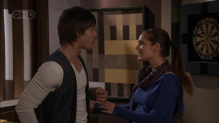 Ty Harper, Rachel Kinski in Neighbours Episode 5583