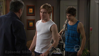 Karl Kennedy, Ringo Brown, Zeke Kinski in Neighbours Episode 5584