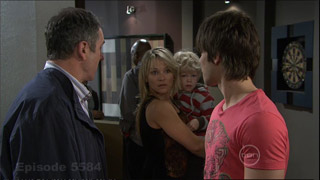 Karl Kennedy, Steph Scully, Charlie Hoyland, Ty Harper in Neighbours Episode 5584