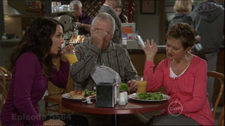 Libby Kennedy, Harold Bishop, Susan Kennedy in Neighbours Episode 5584