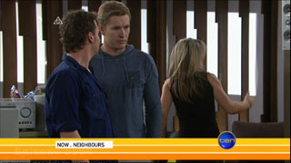 Lucas Fitzgerald, Dan Fitzgerald in Neighbours Episode 5584