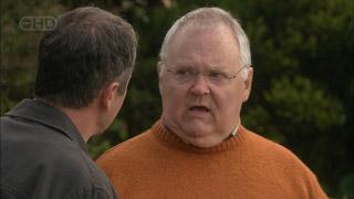 Karl Kennedy, Harold Bishop in Neighbours Episode 5587