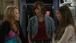 Donna Freedman, Bridget Parker, Rachel Kinski in Neighbours Episode 5588