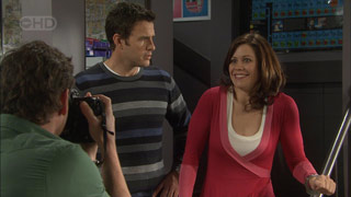 Lucas Fitzgerald, Andrew Simpson, Rebecca Napier in Neighbours Episode 5589