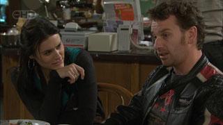 Carmella Cammeniti, Lucas Fitzgerald in Neighbours Episode 5590