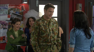 Susan Kennedy, Libby Kennedy, Andrew Simpson, Carmella Cammeniti in Neighbours Episode 5591