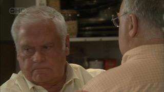 Lou Carpenter, Harold Bishop in Neighbours Episode 5594