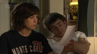 Bridget Parker, Declan Napier in Neighbours Episode 5595