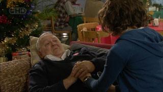 Harold Bishop, Bridget Parker in Neighbours Episode 5597