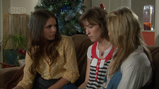 Rachel Kinski, Bridget Parker, Donna Freedman in Neighbours Episode 5598