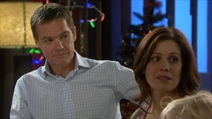 Paul Robinson, Rebecca Napier in Neighbours Episode 5599