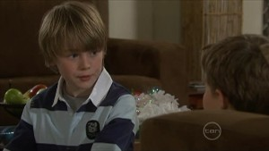 Mickey Gannon, Callum Jones in Neighbours Episode 5600