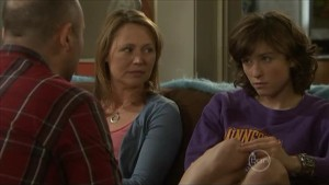 Steve Parker, Miranda Parker, Bridget Parker in Neighbours Episode 5604