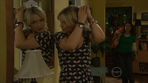 Steph Scully, Libby Kennedy in Neighbours Episode 5604
