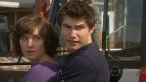 Bridget Parker, Declan Napier in Neighbours Episode 5604