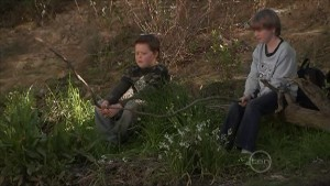 Callum Jones, Mickey Gannon in Neighbours Episode 5605