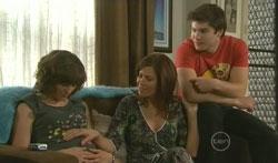 Bridget Parker, Rebecca Napier, Declan Napier in Neighbours Episode 5616