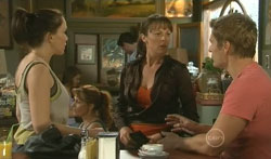 Libby Kennedy, Dr Veronica Olenski, Dan Fitzgerald in Neighbours Episode 5616