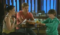 Libby Kennedy, Dan Fitzgerald, Ben Kirk in Neighbours Episode 5617