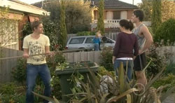 Dan Fitzgerald, Steph Scully, Libby Kennedy, Ty Harper in Neighbours Episode 5617