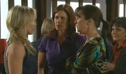 Steph Scully, Rebecca Napier, Dr Veronica Olenski in Neighbours Episode 5617