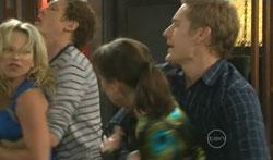 Steph Scully, Greg Michaels, Dr Veronica Olenski, Dan Fitzgerald in Neighbours Episode 5617