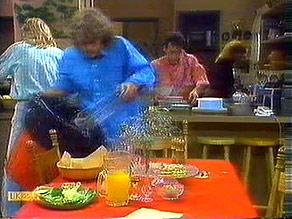 Scott Robinson, Henry Ramsay, Tony Romeo, Sally Wells in Neighbours Episode 0687