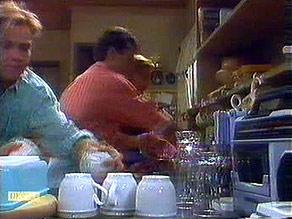 Scott Robinson, Tony Romeo, Sally Wells in Neighbours Episode 0687