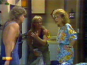 Henry Ramsay, Scott Robinson, Madge Bishop in Neighbours Episode 0688